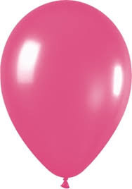 Latex 11inch Fuchsia Balloon