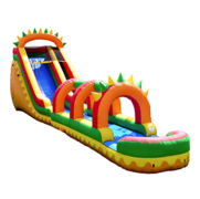 Dino Fun Slide with Slip & Slide Attached