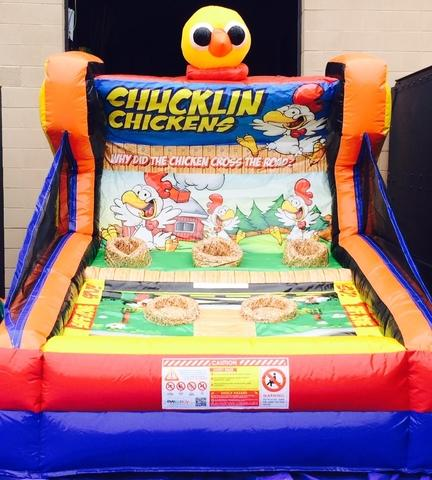 Chucklin Chickens Inflatable Game