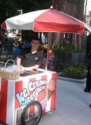 Ice Cream or Water Ice Cart