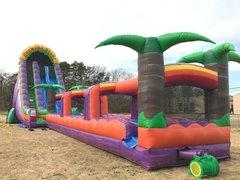 NEW! 27 ft Bermuda Blast waterslide