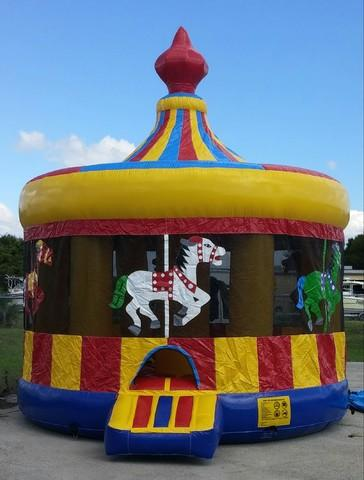 (13) Carousel Bounce House