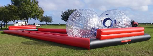 (118) Giant Hamster Ball Race