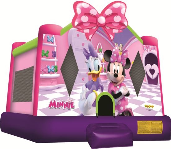 (0002) 13x13 Minnie Mouse Moonwalk