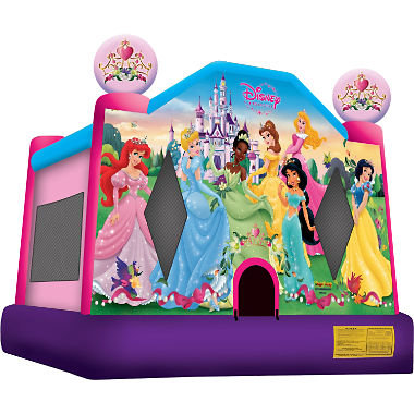(0004) 13 X 13 Disney Princess 2 Bounce House