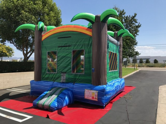 (005) 13 x 13 Tropical Bounce House