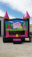 13x13 Hot Pink Castle w/ Princess