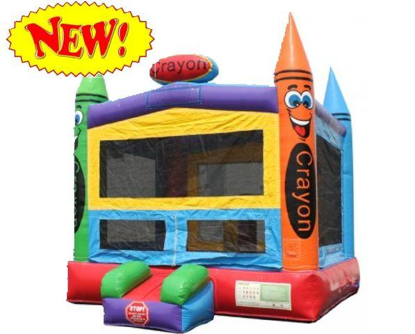 (14) 13 x 13 Crayon Bounce House