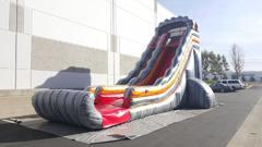 24 Foot Tall Lava Dry Slide