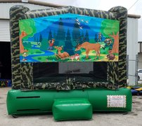 13x13 Camouflage Hunter Bounce House