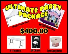 (3) Ultimate Party Package