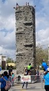 28 Foot Tall Rock Climbing Wall