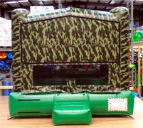 13x13 Camouflage Bounce House