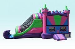 Party Palace Combo Wet Bouncer