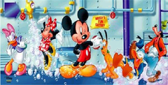 13x13 Mickey Mouse and Friends art panel