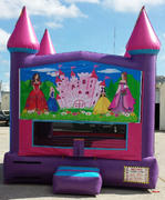 13x13 Pink Palace Princess Party Theme