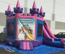 3 In 1 Enchanted Princess Castle Combo Wet