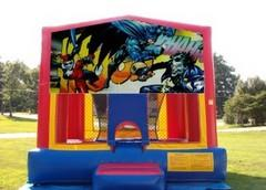 13x13 Batman Bounce House