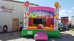 13 x 14 My Candy House Bounce House