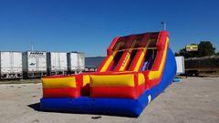 16 Feet Tall Double Down WET Slide