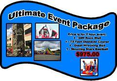Ultimate Event Package