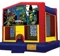 13x13 Ninja Turtle Bounce House