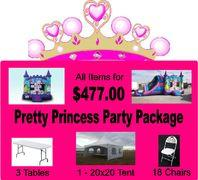 Pretty Princess Party Package