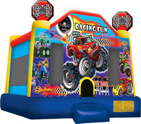 13 x 13 Racing Fun Bouncer
