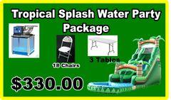 (2) Tropical Splash Party Package