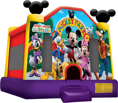 (0001) 13x13 Mickey Mouse Park Bounce House