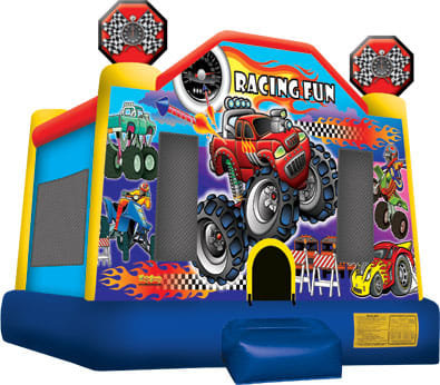 (0003) Racing Fun Bounce House