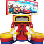 CARS Double Splash Jr WATER Slide