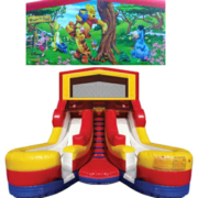 WINNIE THE POOH Double Splash Jr WATER Slide