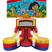DORA Double Splash Jr WATER Slide