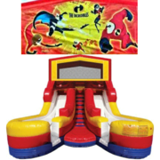INCREDIBLES Double Splash Jr WATER Slide