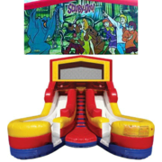 SCOOBY DOO Double Splash Jr WATER Slide