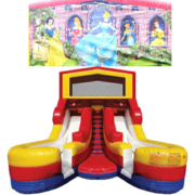 PRINCESS Double Splash Jr WATER Slide