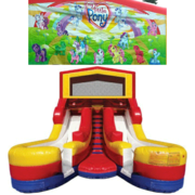 MY LITTLE PONY Double Splash Jr WATER Slide