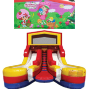 STRAWBERRY SHORTCAKE Double Splash Jr WATER Slide