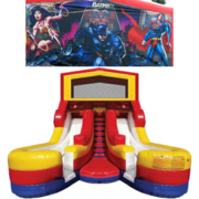 SUPER HEROES Double Splash Jr WATER Slide