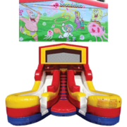 SPONGEBOB Double Splash Jr WATER Slide