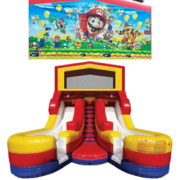 SUPER MARIO Double Splash Jr WATER Slide