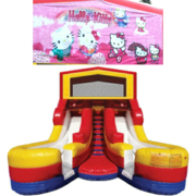 HELLO KITTY Double Splash Jr WATER Slide