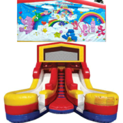 CARE BEARS Double Splash Jr WATER Slide