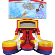 SOFIA THE FIRST Double Splash Jr WATER Slide