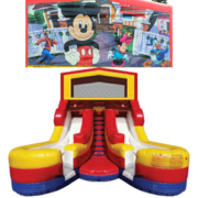 MICKEY MOUSE Double Splash Jr WATER Slide