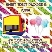 SWEET TREAT PACKAGE B- Cotton Candy and 4-in-1!