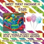 SWEET TREAT PACKAGE H- Cotton Candy and Wacky World!