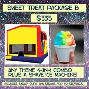 SWEET TREAT PACKAGE B- Shave Ice and 4-in-1!