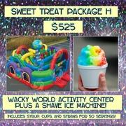 SWEET TREAT PACKAGE H- Shave Ice and Wacky World!